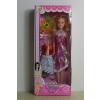 供应厂家直销 新款002系列 芭比娃娃彩盒套装 女孩喜爱的礼物