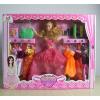 供应厂家直销 新款005系列 芭比娃娃彩盒套装 女孩喜爱的礼物