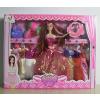 供应厂家直销 新款006系列 芭比娃娃彩盒套装 女孩喜爱的礼物