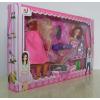 供应厂家直销 新款007系列 芭比娃娃彩盒套装 女孩喜爱的礼物