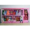 供应厂家直销 新款008系列 芭比娃娃彩盒套装 女孩喜爱的礼物