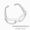 供应SLA手板加工女士太阳眼镜RP手板模型