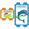 供应游戏机彩票游戏机彩票卡纸游艺机彩票