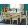 供应优质餐厅家具、徐州松木家具、餐厅桌椅定制