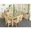 供应松木餐椅、餐桌、徐州松木家具、优质餐厅家具