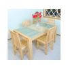 供应徐州松木家具厂家、优质餐桌、餐椅定制、高品质松木家具