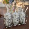 陶瓷调味罐三件套装 厨房用品feflaewafe