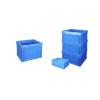 供应深圳观澜塑料折叠胶箱600*500*400 日系汽车配件折叠胶箱S806
