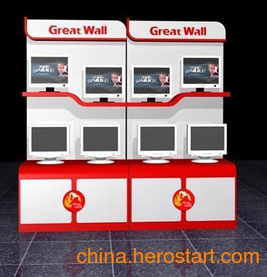 供应武汉专卖店电脑展示柜设计定做