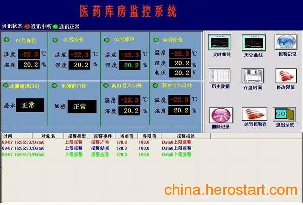供应药品温湿度监控传感器厂家