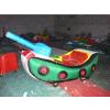 供应儿童充气玩具车/充气电瓶车/彩灯电瓶车/双人玩具电动车