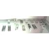 供应锁件,二卡锁,铁皮三卡锁,锌合金三卡锁,扁铝锁件,连接件