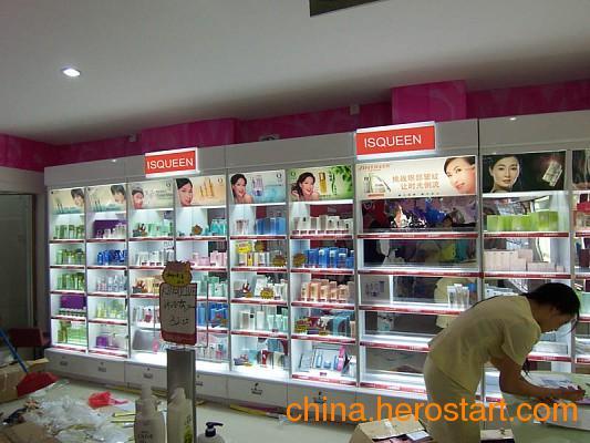 供应武汉化妆品专卖店柜台设计定做