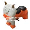 供应统计毛绒动物电动玩具车价格毛绒玩具电瓶车样式