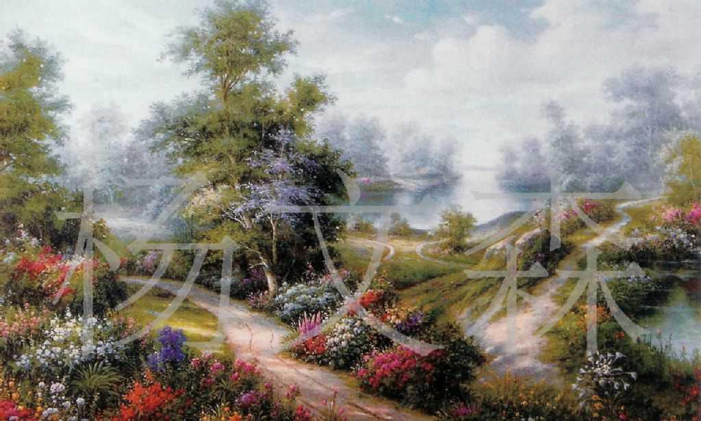 风景油画 人体艺术 宫廷油画适合酒店家庭ktv装饰