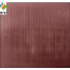 供应拉丝不锈钢彩板、高档装饰材料、玫瑰金彩色装饰钢板