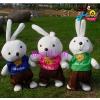 供应zl10厂家直销 【走路米兔】 娃娃电动唱歌走路毛绒玩具 可爱米兔