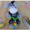 供应热销新款 电动毛绒玩具 音乐玩具 骑车玩具 会骑车唱歌的驴