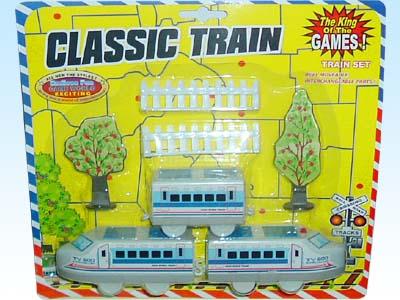 供应玩具电动拼装动物轨道火车2501