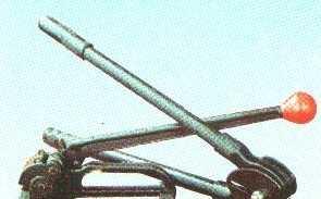 批发供应 山东滨州美式19-32MM钢带锁扣式打包机