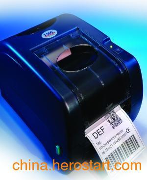 供应TSC TTP-343Plus支持工业碳带小型条码打印机