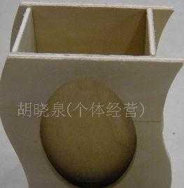 供应木制S形笔筒
