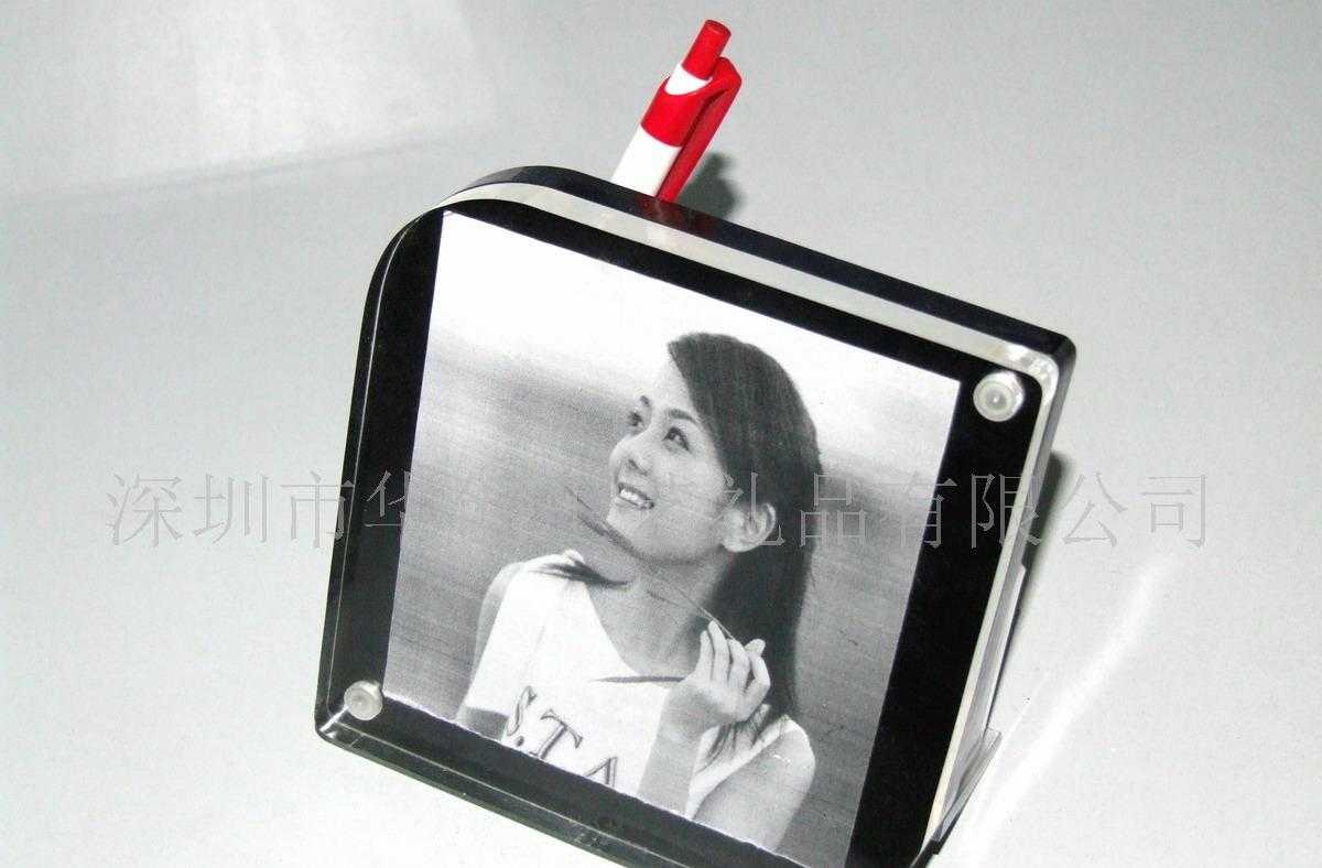 有机玻璃 相框像册 相架 亚克力 摄像头展示架展牌