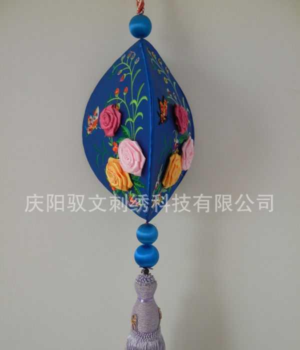 批发室内挂件开口笑      手工刺绣工艺品 旅游产品