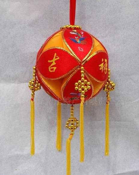 供应批发广西桂林土特产庆典礼仪用品旧州精品手工绣球