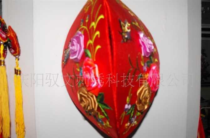 手工刺绣工艺品  室内挂件开口笑  富贵吉祥  旅游产品