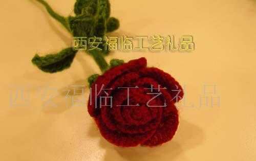 工艺品编织情人节最特别的礼物玫瑰