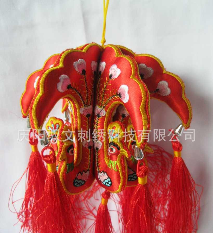 批发刺绣小孔灯 端午节最畅销产品