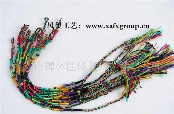 纯手工编织手链,端午节辟邪彩色编织手链,民族编织手链